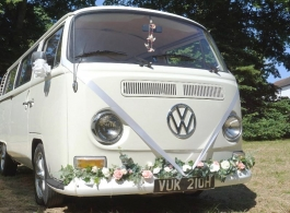 Classic Campervan wedding hire in Bexleyheath